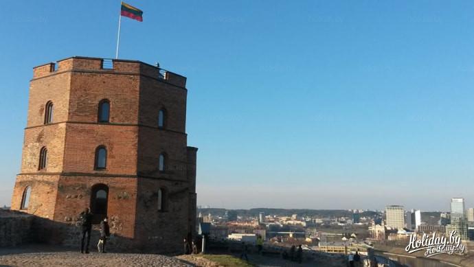 1.Замковая гора. Здесь была резиденция великих князей литовских. Фото Александра Гиля