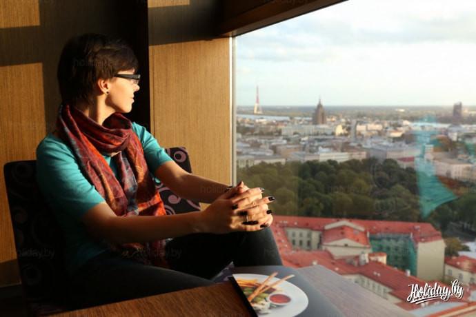 Путешествие выходного дня в Ригу. Вид из бара Skyline