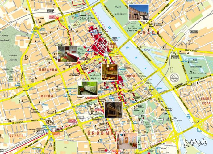 трикотаж карта варшавы с улицами и районами болгарку, можно без