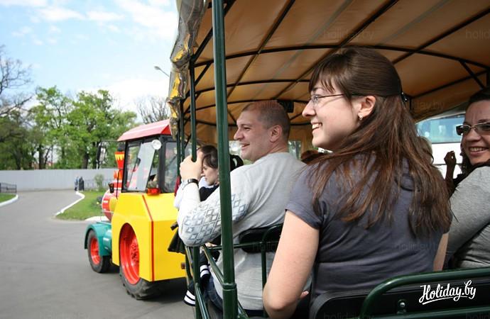 "Сафари-тур в ""Припятском"". Начало маршрута"