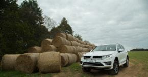 Путешественник из Германии: на что способен VW Touareg