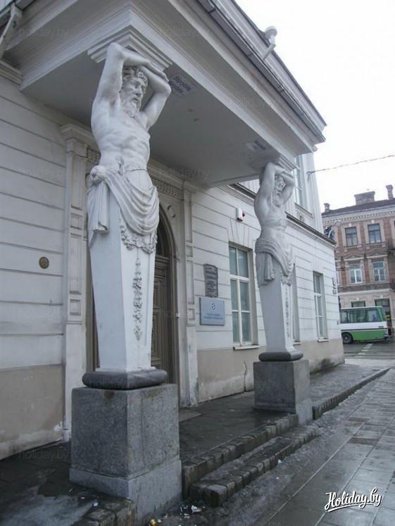 Бывший дворец Тышкевичей в Вильнюсе