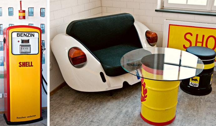 Мебель в стиле авто