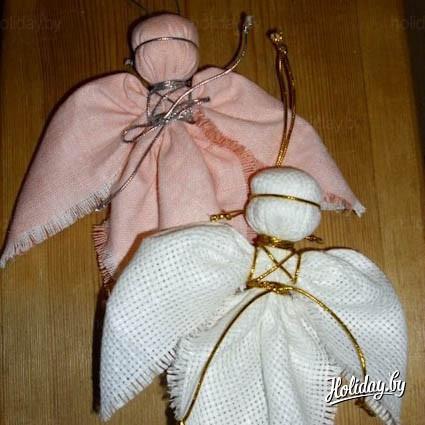 Мастер класс куклы из ткани