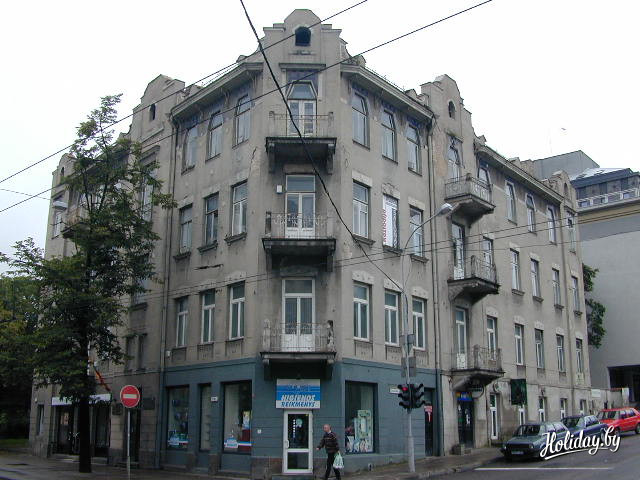 6.Здание на углу улиц Пилимо, 5 / Калинауско (Кастуся Калиновского), 2.