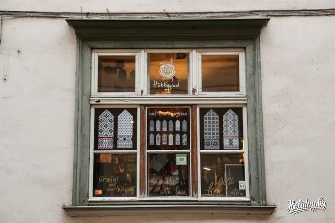 Туры выходного дня в Ригу. Старый город. Магазин шерстяных изделий