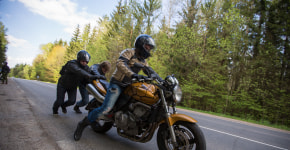 Фоторепортаж: путешествие по Воложинскому району на мотоцикле