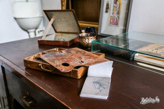 Студия на последнем этаже в музее арт-нуво. Туры выходного дня в Ригу