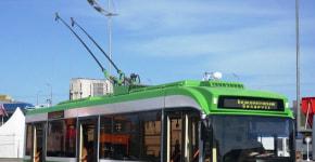 «Исторический» троллейбус начал курсировать по улицам Бреста