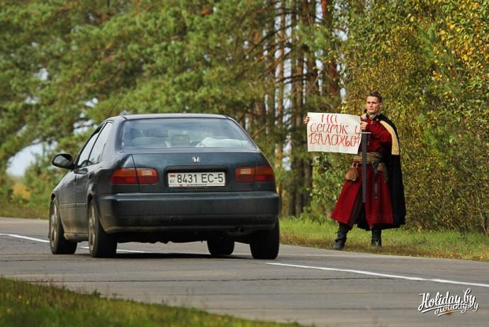 Скрытая камера и литовские ребята