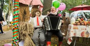 Клюква в сахаре и колбасе: как в Миорах прошёл 5-й фестиваль «Журавы и журавины»
