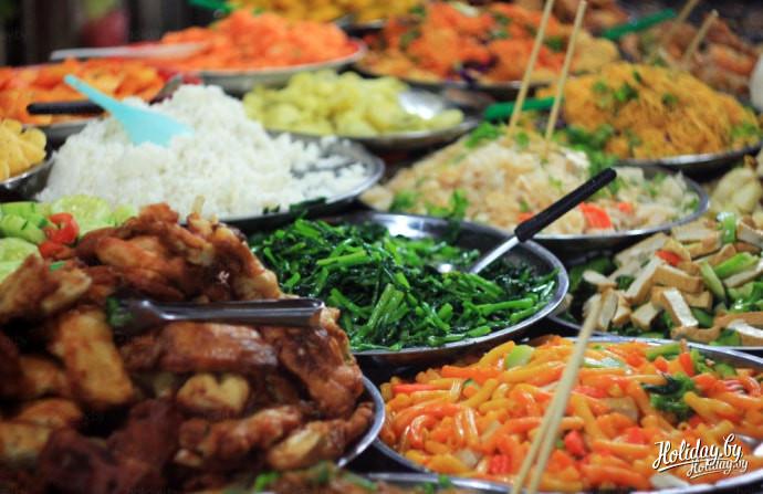 Еда в Лаосе