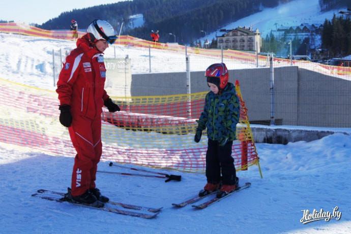 Украинский горнолыжный курорт