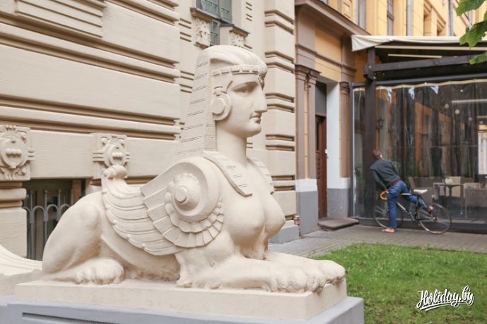 Квартал югендстиля в Риге. Туры выходного дня в Ригу