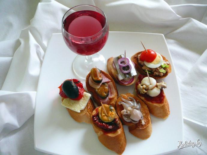 Закуска для вина рецепт