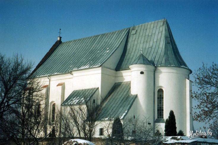 Троицкий костел в деревне Чернавчицы