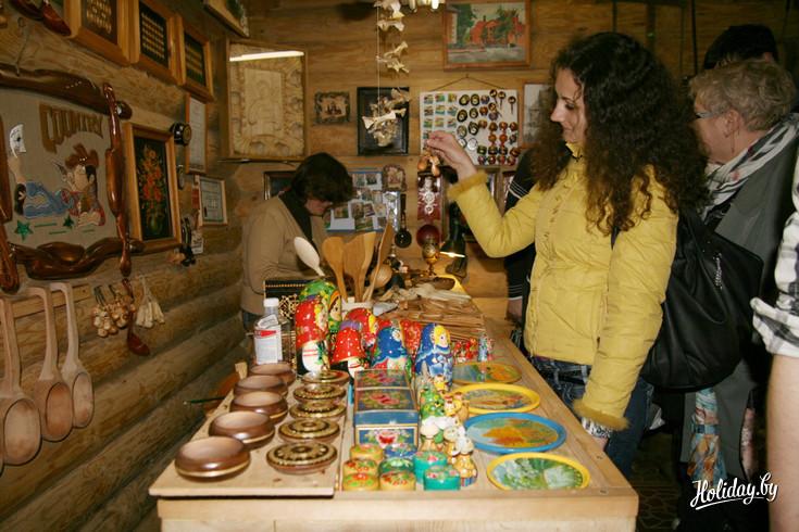 Сувениры в музее старинных ремёсел