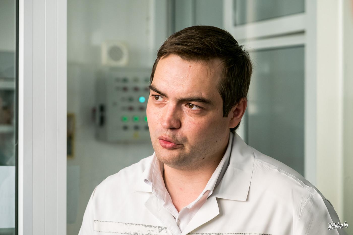 Главный пивовар ОАО «Криница» Николай Царюк
