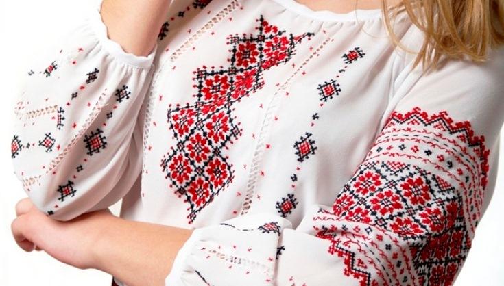 Белорусский костюм вышивка