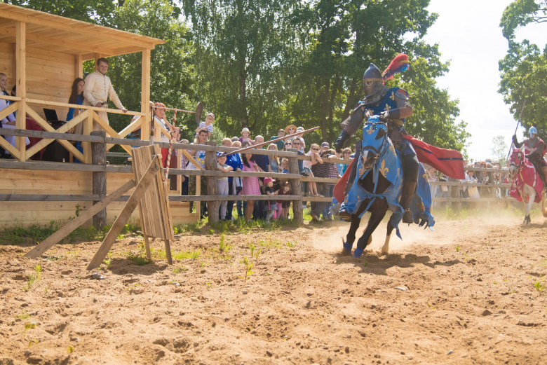 festival chevaleresque bélarus juillet