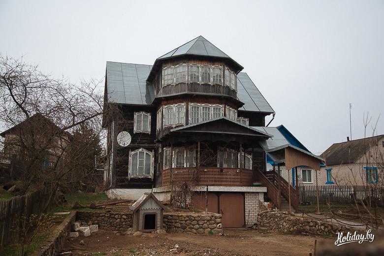 Необычный дом в Столбцах