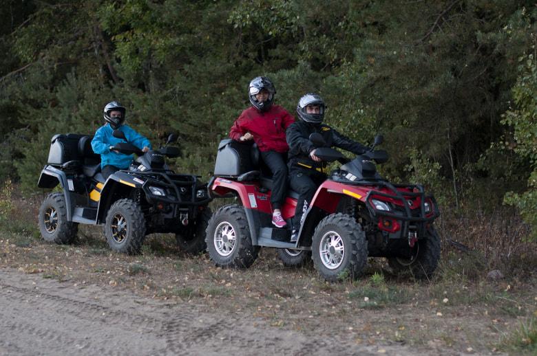 Квадроциклы в усадьбе Vodar