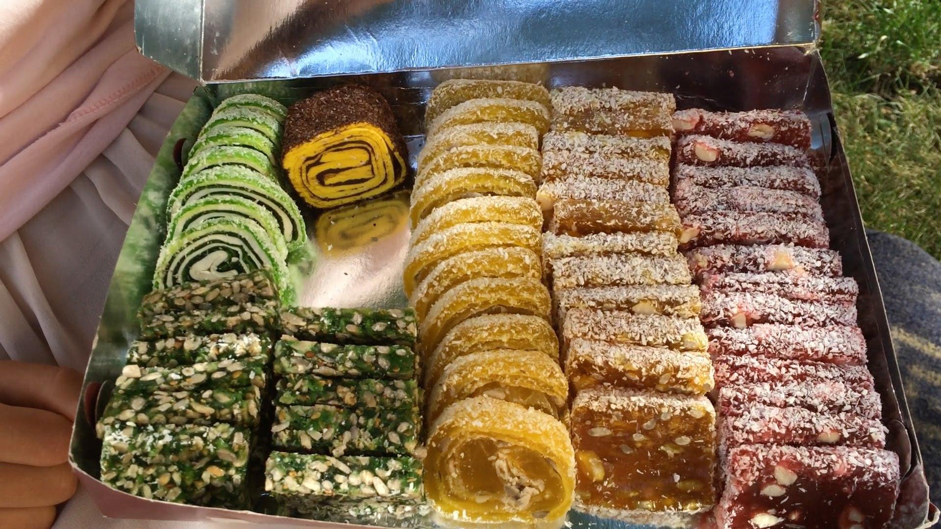 турецкие сладости рахат-лукум онлайн