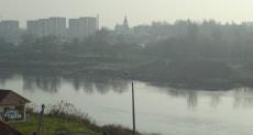 Левый берег Двины. Полоцк