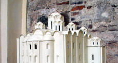 Макет Софийского собора в Полоцке