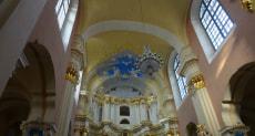 Софийский собор в Полоцке внутри