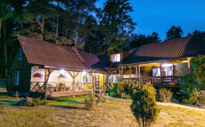 Большой гостевой дом в усадьбе «Лесной кордон»