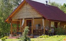 Нижний домик в усадьбе «Мирския Крыницы»