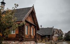 Общинный дом №3 в этнокультурном комплексе «Наносы Отдых»