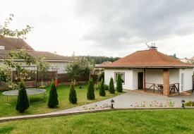 Коттедж Гостевой дом с баней в Боровлянах