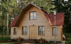Дом рыбака и охотника «Шалаш» в Березинском биосферном заповеднике