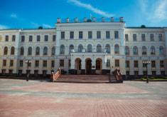 Здание бывшего женского епархиального училища в Витебске
