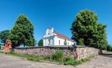 Костел Девы Марии в деревне Костеневичи