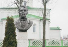 Памятник Яну Чечоту в Кореличах