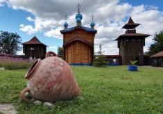 Городище на «Замковой Горе» в Мозыре
