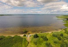 Заказник «Селява» и озеро Селява в Крупском районе