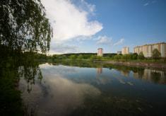 Цнянское водохранилище в Минске