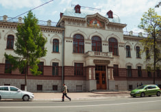Здание Академии ветеринарной медицины в Витебске
