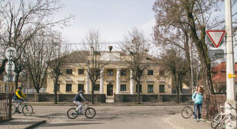 """Улица Леваневского в Бресте, """"польская застройка"""""""