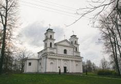 Костел Святой Анны в деревне Воронча