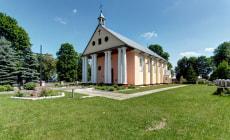 Костел Преображения Господнего в деревне Новая Мышь