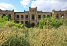 Здание уездной больницы начала XX века в Мозыре