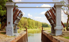 Шлюз «Домбровка» Августовского канала