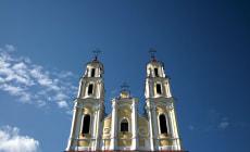 Троицкий костел в городе Глубокое