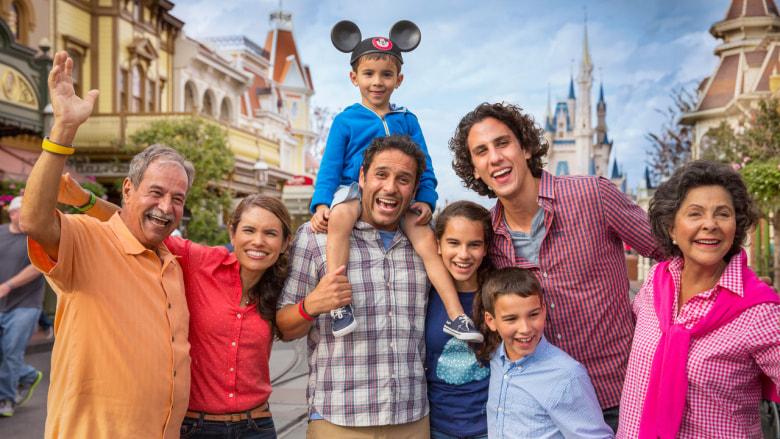 family vacations to disneyland