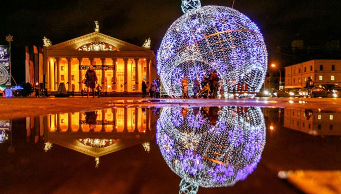 Тур по белоруссии на новый год